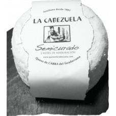 Queso de cabra semicurado La Cabezuela 1 Kilo